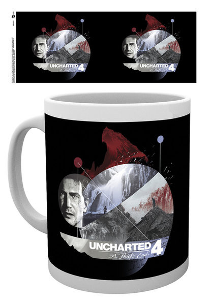 Posters Hrnek Uncharted 4 - Mountain