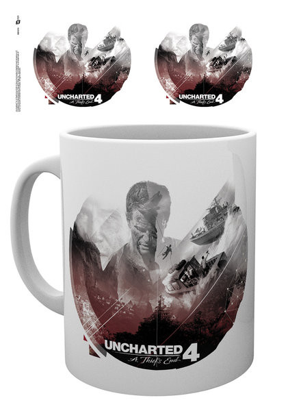Posters Hrnek Uncharted 4 - Boats