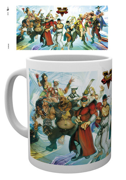 Posters Hrnek Street Fighter 5 - Characters