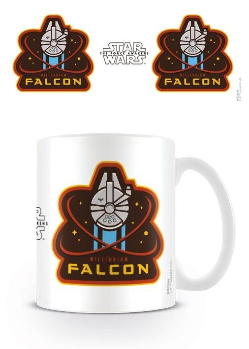 Posters Hrnek Star Wars VII: Síla se probouzí - Millennium Falcon