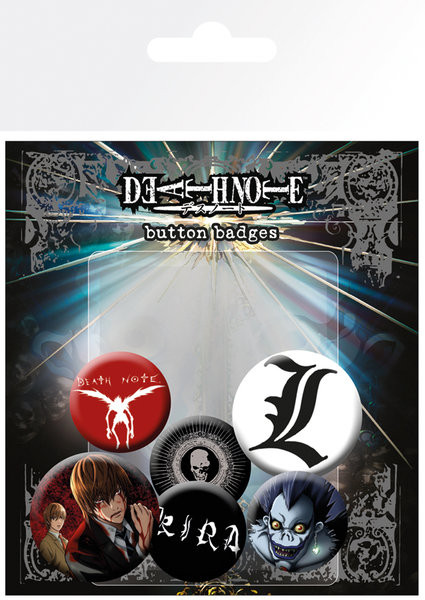 Posters Placka DEATH NOTE - Mix