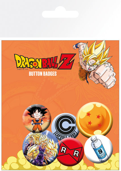 Posters Placka Dragon Ball Z - Mix