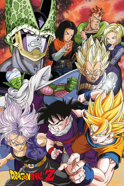 Posters Plakát, Obraz - Dragon Ball Z - Cell Saga, (61 x 91,5 cm)