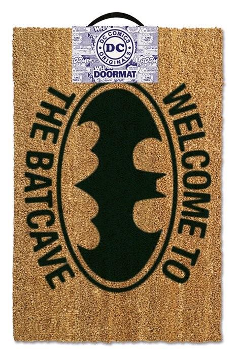 Posters Rohožka Batman - Welcome to the batcave
