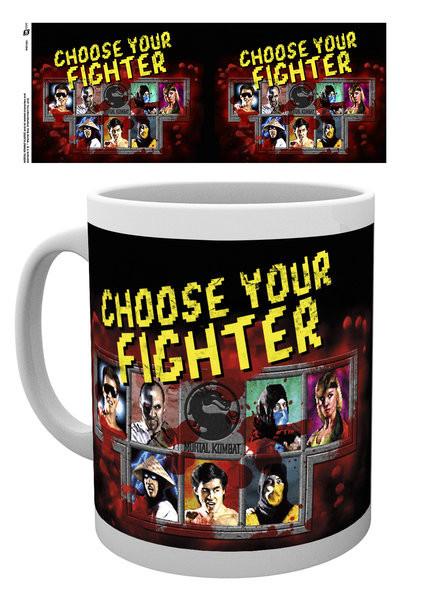 Posters Hrnek Mortal Kombat - Fighter