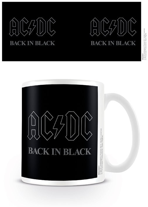 Posters Hrnek AC/DC - Back In Black
