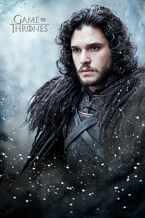 Posters Plakát, Obraz - Hra o Trůny ( Game of Thrones) - Jon Snow, (61 x 91,5 cm)