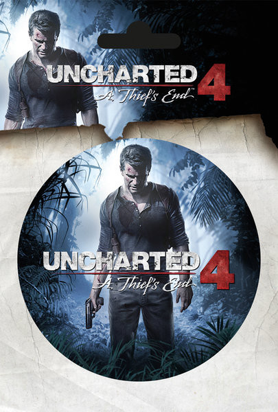 Posters Samolepka Uncharted 4 - A Thiefs End