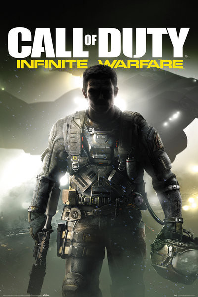 Posters Plakát, Obraz - Call of Duty: Infinite Warfare - Key Art, (61 x 91,5 cm)
