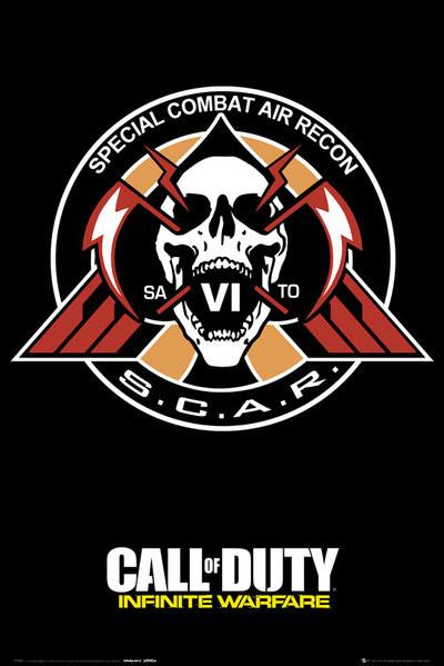 Posters Plakát, Obraz - Call of Duty: Infinite Warfare - Scar, (61 x 91,5 cm)