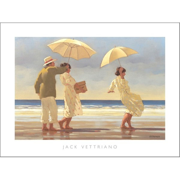 Posters Reprodukce Jack Vettriano - The Picnic Party, 1992, (50 x 40 cm)