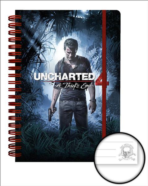 Posters Uncharted 4 - Cover Psací potřeby