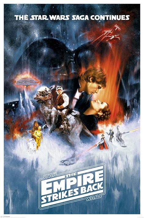 Posters Plakát, Obraz - Star Wars: Epizoda V Impérium vrací úder - One sheet, (61 x 91,5 cm)