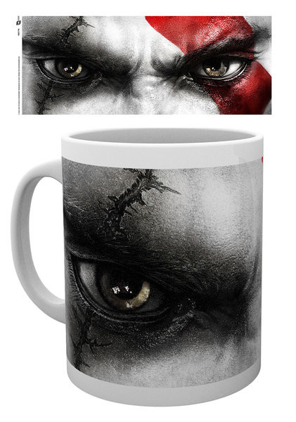 Posters Hrnek God of War - Kratos Eyes