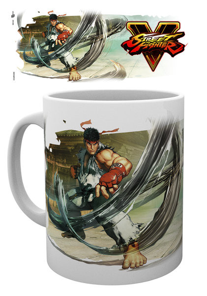 Posters Hrnek Street Fighter 5 - Ryu