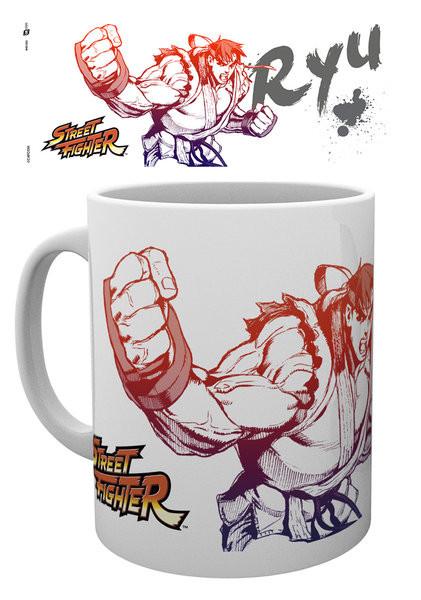 Posters Hrnek Street Fighter - Ryu