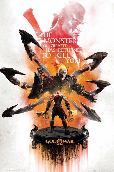 Posters Plakát, Obraz - God of War - Key Art 3, (61 x 91,5 cm)