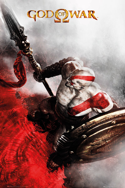 Posters Plakát, Obraz - God of War - Key Art 3, (61 x 91,5 cm)