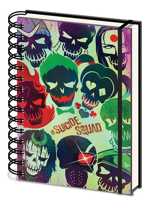 Posters Sebevražedný oddíl - Skulls Psací potřeby