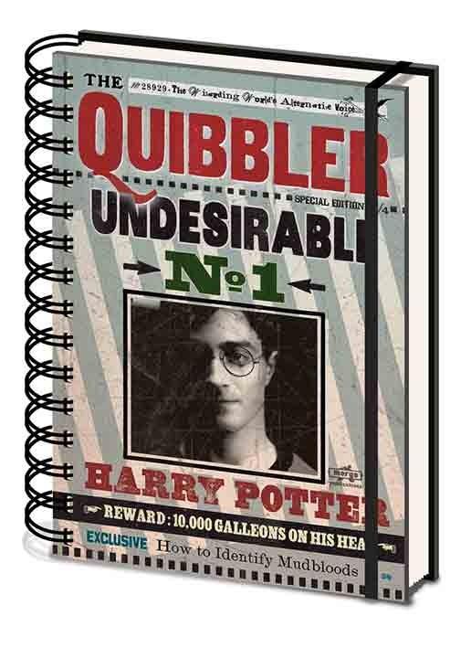Posters Harry Potter - Quibbler Psací potřeby