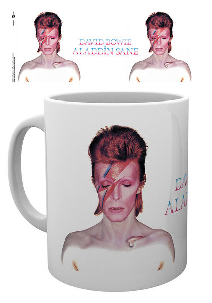 Posters Hrnek David Bowie - Aladdin Sane