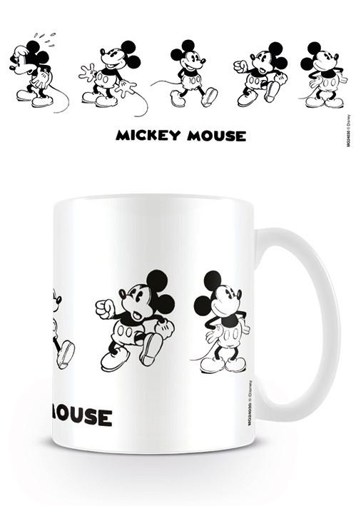 Posters Hrnek Myšák Mickey (Mickey Mouse) - Vintage
