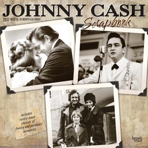 Posters Kalendář 2017 Johnny Cash