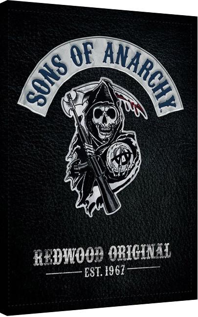 Posters Obraz na plátně Sons of Anarchy (Zákon gangu) - Cut, (60 x 80 cm)