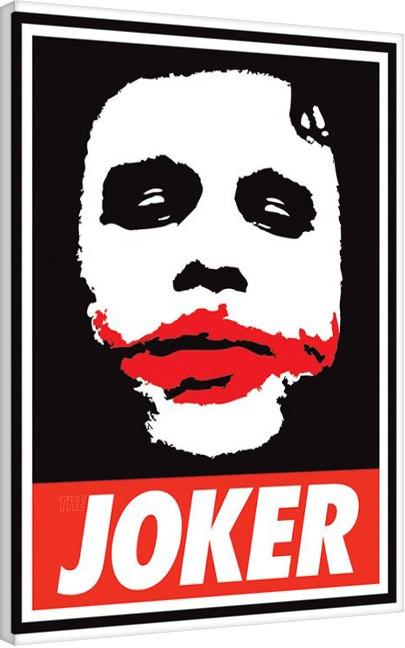 Posters Obraz na plátně Ferrari - The Dark Knight - Obey The Joker, (60 x 80 cm)