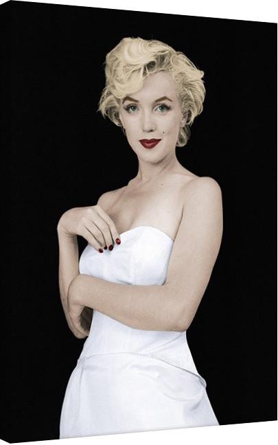 Posters Obraz na plátně Marilyn Monroe - Pose, (60 x 80 cm)