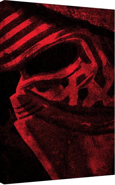 Posters Obraz na plátně Star Wars VII: Síla se probouzí - Millennium Falcon Pencil Art, (60 x 80 cm)