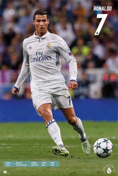 Posters Plakát, Obraz - Real Madrid - Ronaldo, (61 x 91,5 cm)