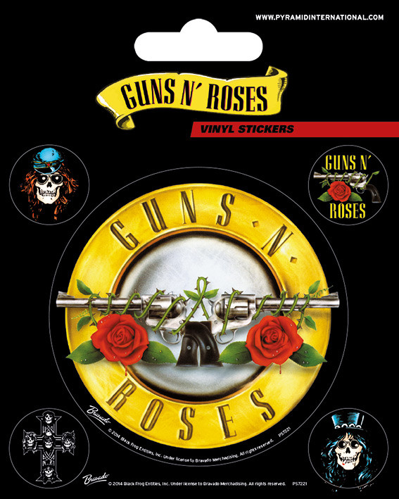 Posters Samolepka Guns N' Roses - Bullet Logo