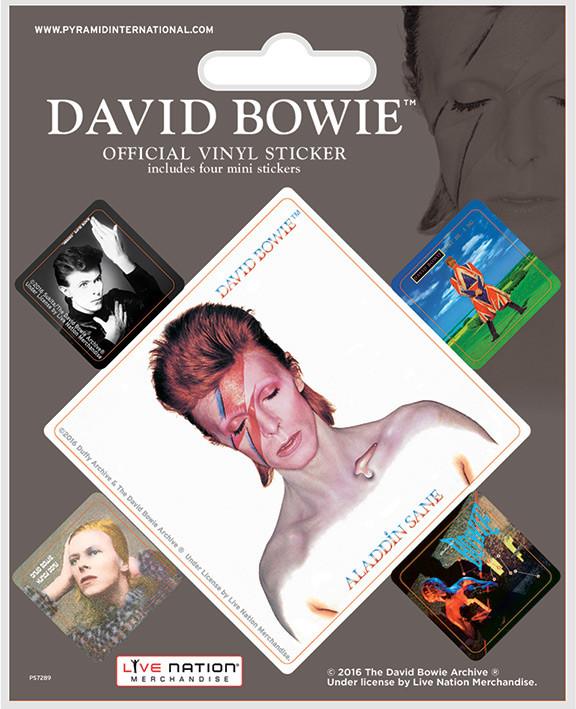 Posters Samolepka David Bowie - Album Covers