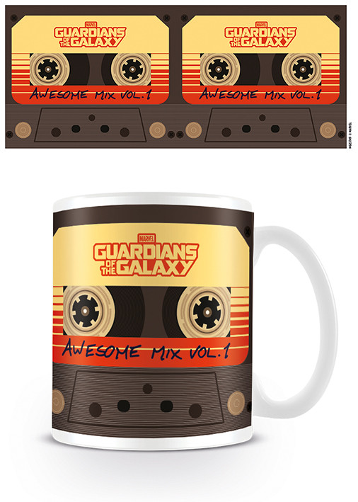 Posters Hrnek Strážci Galaxie - Awesome Mix Vol. 1