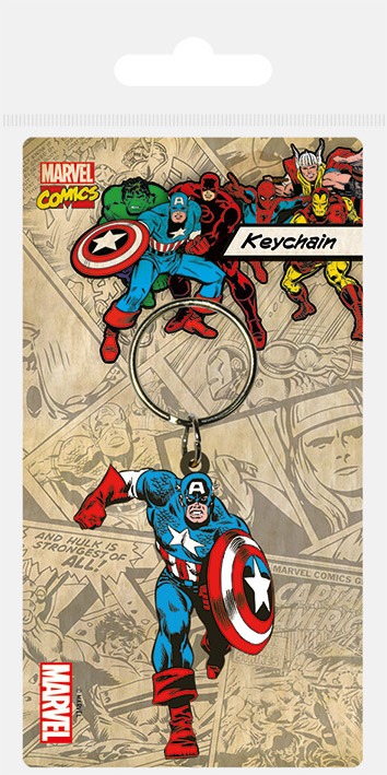 Posters Klíčenka Captain America