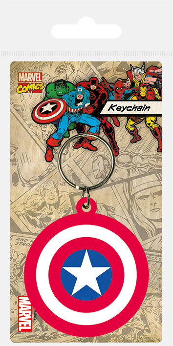 Posters Klíčenka Captain America - Shield