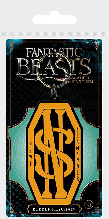 Posters Klíčenka Fantastická zvířata a kde je najít - Newt Scamander Logo