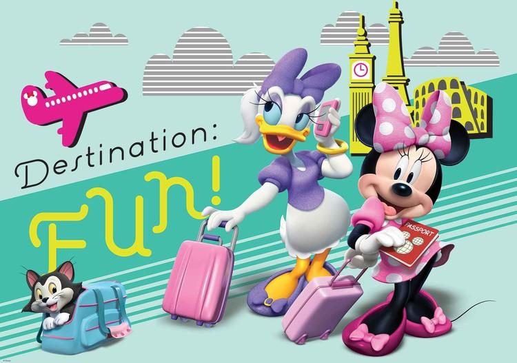 Posters Fototapeta Disney Minnie Mouse 368x254 cm115g/m2 Paper