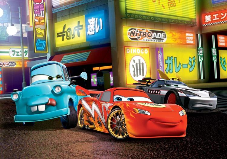 Posters Fototapeta Disney Cars Lightning McQueen, (254 x 184 cm) 254x184 cm - 115g/m2 Paper