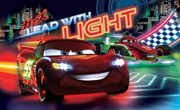 Posters Fototapeta Disney Cars Lightning McQueen Bernoulli 368x254 cm - 115g/m2 Paper