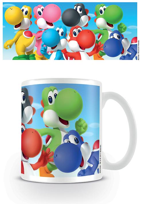 Posters Hrnek Super Mario - Yoshi