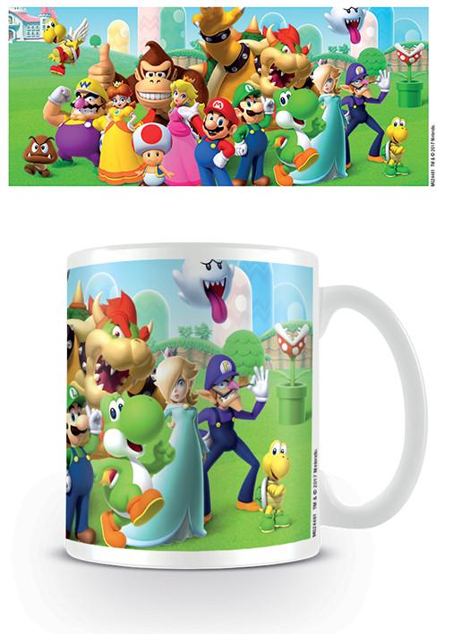 Posters Hrnek Super Mario - Mushroom Kingdom