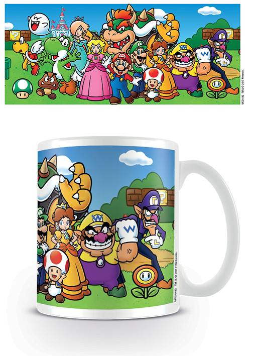Posters Hrnek Super Mario - Characters