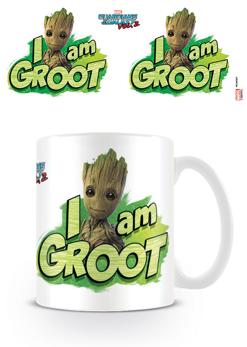Posters Hrnek Strážci Galaxie Vol. 2 - I Am Groot