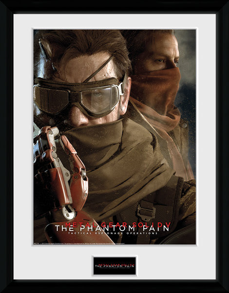 Posters Metal Gear Solid V - Goggles rám s plexisklem