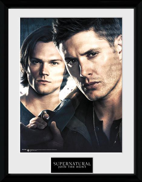 Posters Lovci duchů - Brothers rám s plexisklem