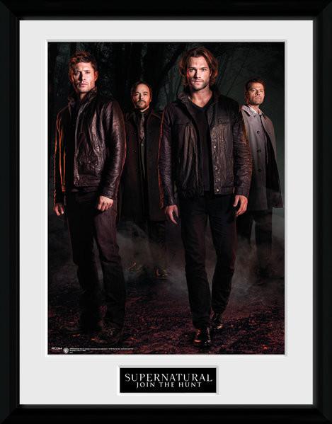 Posters Lovci duchů - Key Art rám s plexisklem