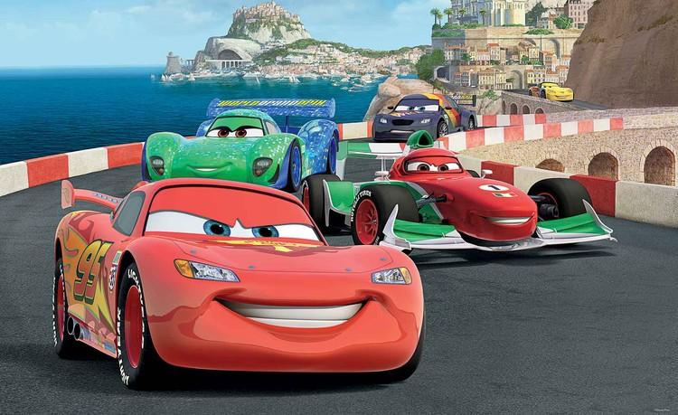 Posters Fototapeta Disney Cars Lightning McQueen Bernoulli, (368 x 254 cm) 368x254 cm - 115g/m2 Paper