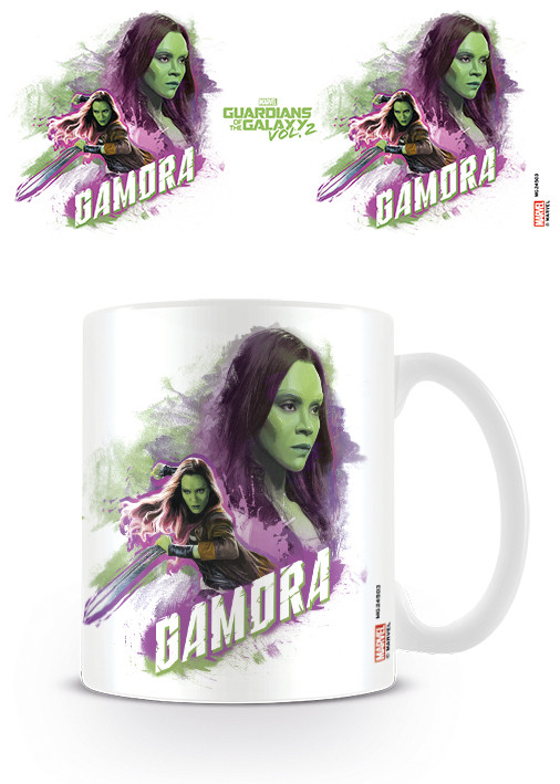 Posters Hrnek Strážci Galaxie Vol. 2 - Gamora
